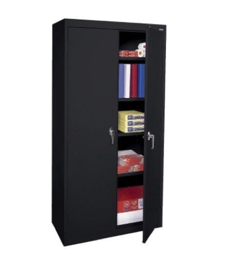 Welded Steel Storage Cabinet Office Furniture Warehouse Workshop Heavy Duty NEW  #Sandusky