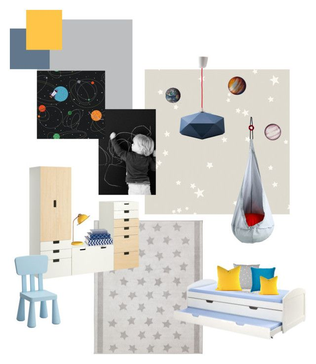B gyerek 2 by reka-palyi on Polyvore featuring interior, interiors, interior design, home, home decor, interior decorating, Seletti, Cole & Son, York Wallcoverings and Mapleton Drive