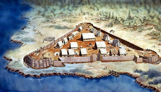 jamestown settlement | CW 2.4) Jamestown Colony | Bring History Alive Through Technology