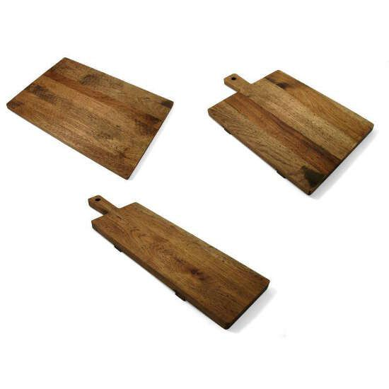 Heritage Hickory Wood Serving Board. Eco Friendly Kitchen Supplies.