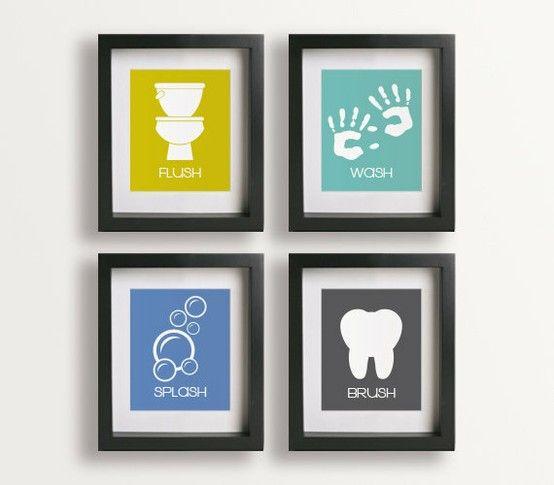 17 mejores ideas sobre cuadros para ba os en pinterest - Fotos para decorar banos ...