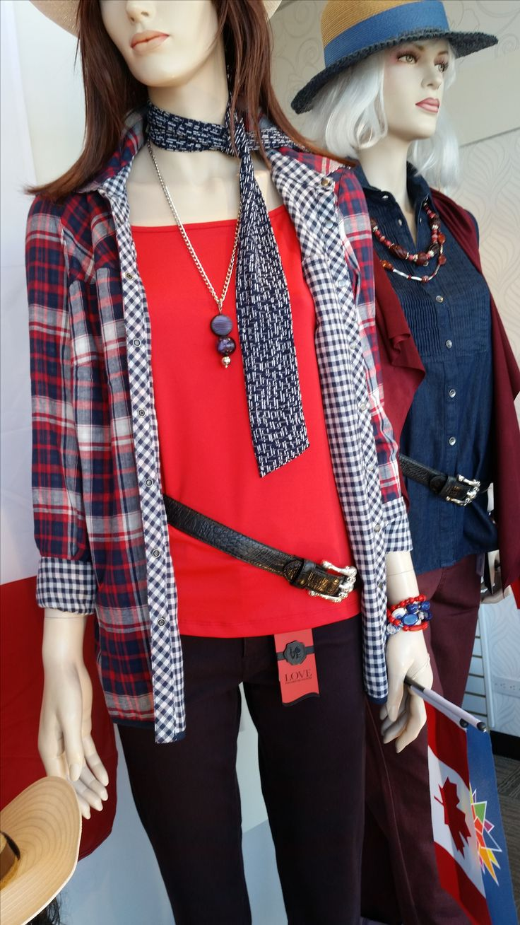 With Canada Day and the Calgary Stampede fast approaching, let us help you find the perfect outfit!