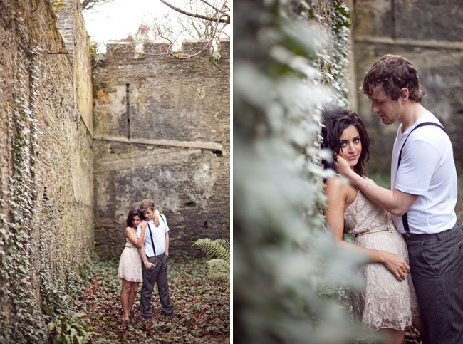An engagement session at an irish castle cute couples photoscouple photo
