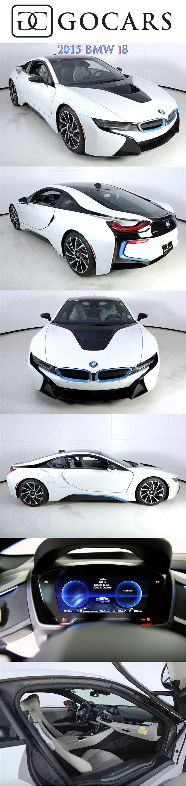 2015 BMW i8 for sale on GoCars #bmw #bmwi8 #bmwphotos #sportscars #sportscar #supercars #supercar #luxurycars #gocars