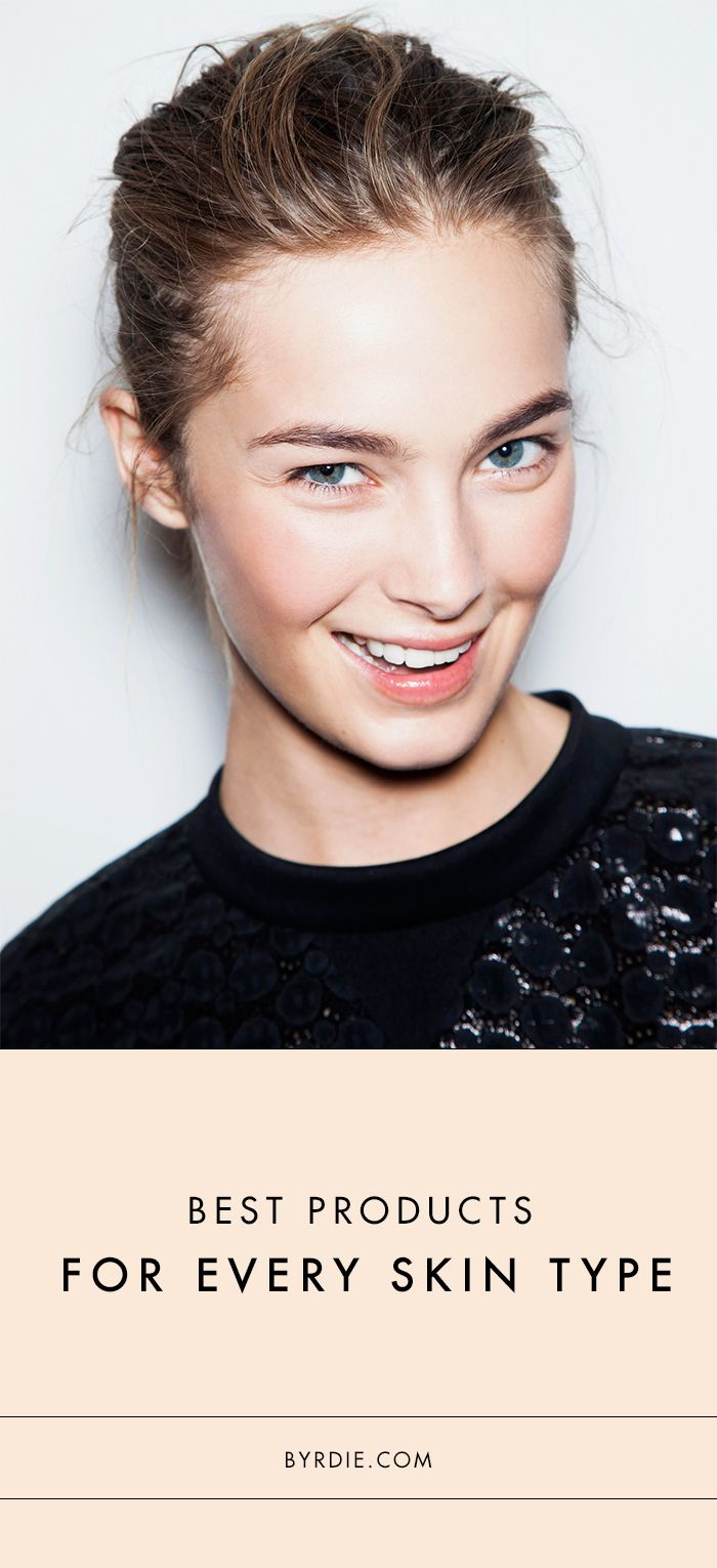 The best skin products for your specific skin type. // #Skincare