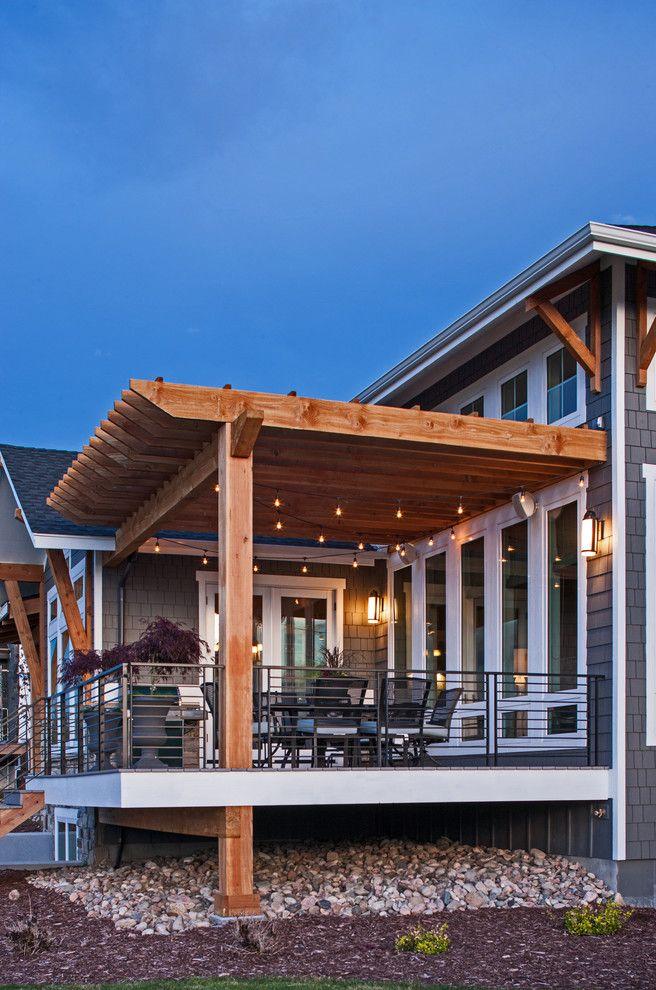 26 best deck ideas images on pinterest decks backyard for House plans with decks