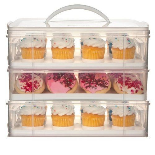 Tupperware Cupcake Carrier For When You Just Can't Eat Them All...