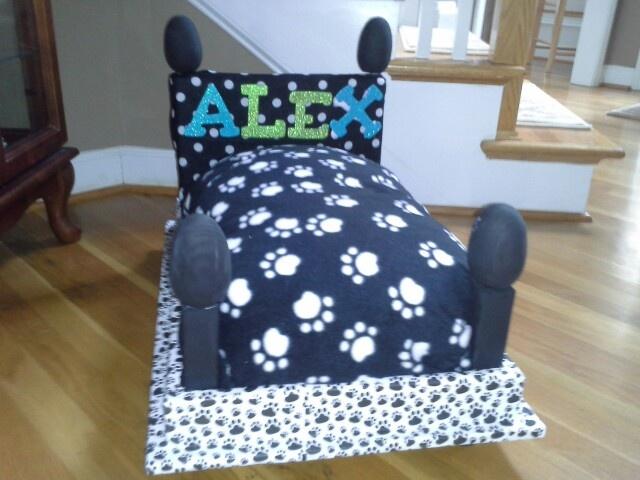 Homemade Dog Bed Dog Beds Pinterest