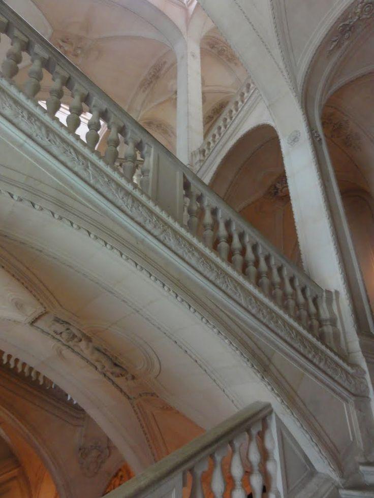 Staircase near Napoleon III Apartment.