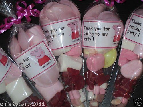 Pre Filled Sweet Cones Party Bags Gifts 4 Any Occassions ...
