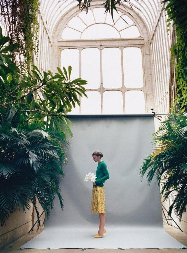 Luca Gadjus por Koto Bolofo para Harper's Bazaar UK Maio 2015 [Editorial]
