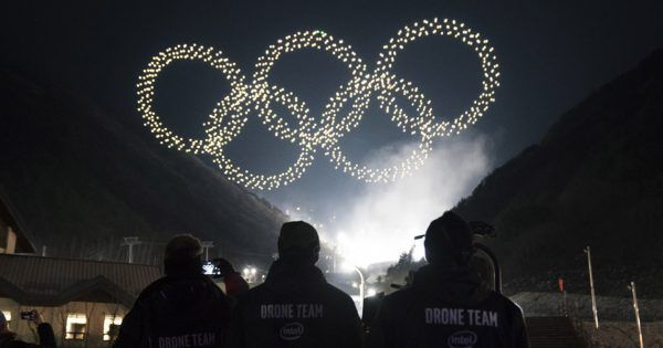 ntel Choreographed 1,200 Drones for the Winter Olympics Opening Ceremony - Adweek