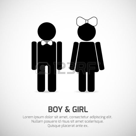 Bathroom Sign Boy Girl best 25+ boy and girl symbol ideas on pinterest | wooden name