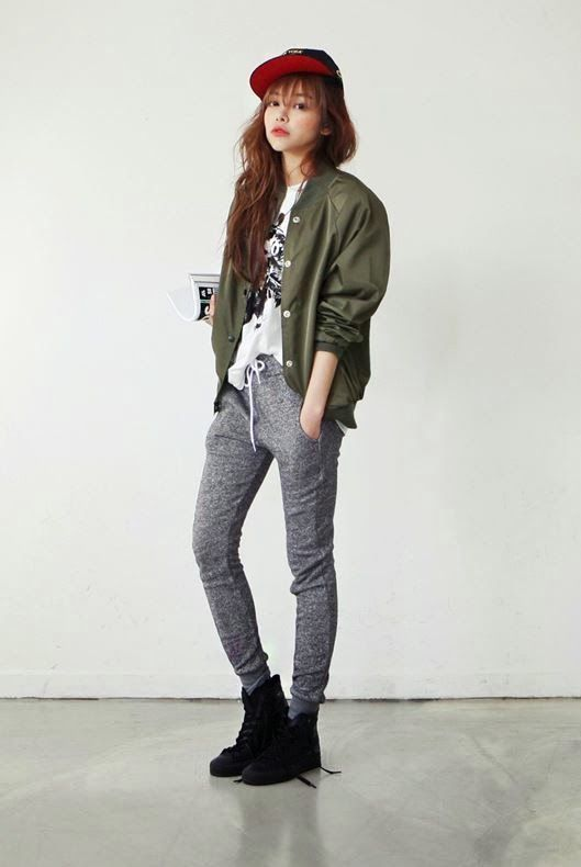 cool Korean Daily Fashion by http://www.redfashiontrends.us/korean-fashion/korean-daily-fashion-3/