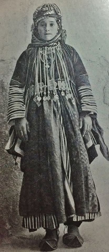 """Young Armenian women in festive costume. Probably from northern Syria. Late-Ottoman era, early 20th century. (Picture from the book: """"People of all Nations""""). -Watch Free Latest Movies Online on Moive365.to"""