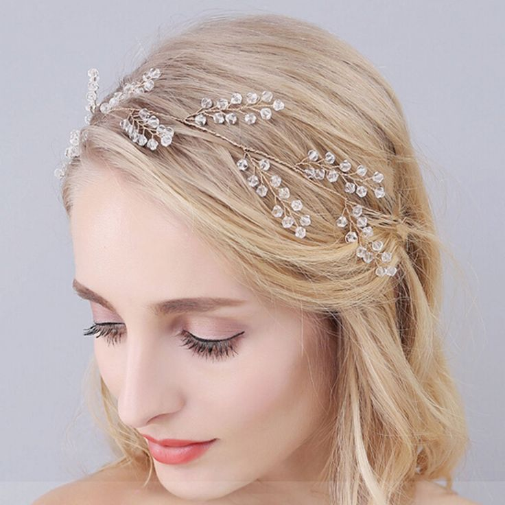 Bridalvenus Wedding Bridal Headband - Bridal pearl halo - Bridal hair accessory Wedding Bridesmaid Headpiece for Women and Girls *** To view further for this item, visit the image link. (Amazon affiliate link)