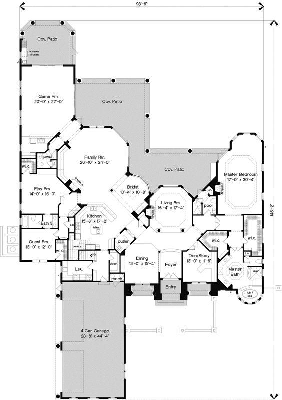 Italian Style House Plans 184 best floor plans images on pinterest | square feet, home plans