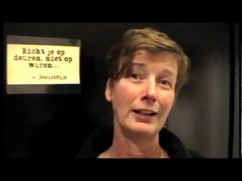 Inspiratietour deelnemer Ilse Reijgwart op de Inspiratieborrel na afloop..