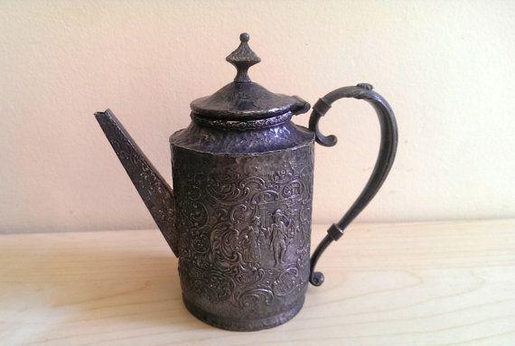 Derby Sp Co Silver Plated Tea Set Derby International