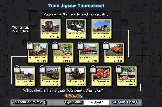 Intra in campionatul de puzzle cu trenuri  Play this tournament puzzle with trains! http://jocuricutrenuri.eu/puzzle-cu-trenuri/campionatul-de-puzzle/
