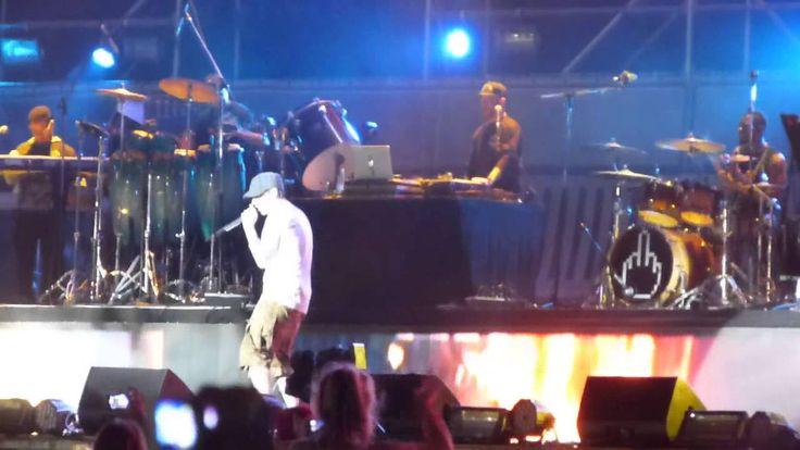 Eminem Lollapalooza Argentina 2016. Lose Yourself Impresionante !!!!