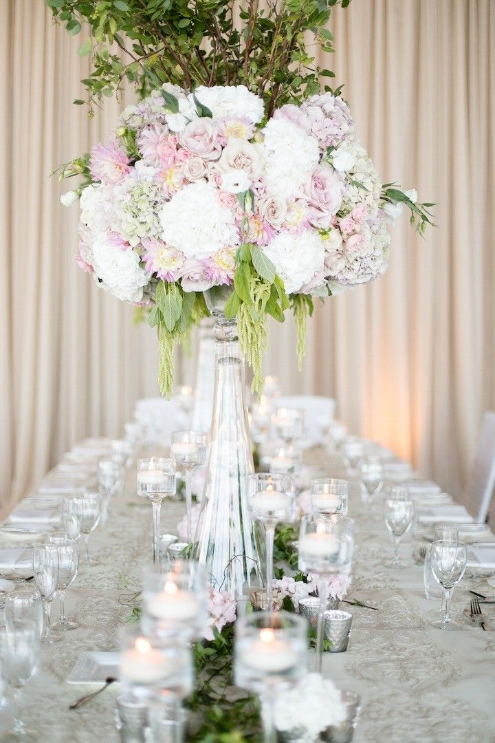gorgeous wedding centerpiece; photo: Nadia Hung Photography
