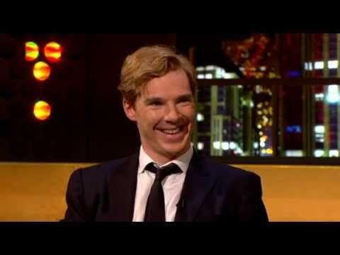 Benedict Cumberbatch impersonates Alan Rickman, David Tennant, and Jonathan Ross. - To watch later