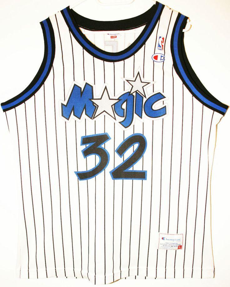 Champion NBA Basketball Orlando Magic #32 Shaquille O'Neal Trikot/Jersey Size 48 - Größe XL - 69,90€ #nba #basketball #trikot #jersey #ebay #etsy #hood #sport #fitness #fanartikel #merchandise #usa #america #fashion #mode #collectable #memorabilia #allbigeverything