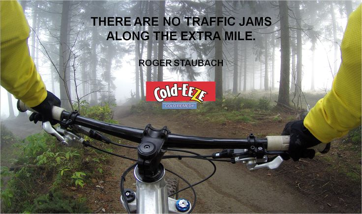 There are no traffic jams along the extra mile. –Roger Staubach #MondayMotivation