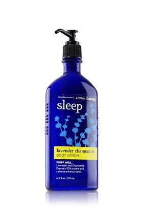 I've really been falling for Bath & Body Work's Aromatherapy line lately.  This sleep inducing body lotion in Lavender Chamomile is so soft and soothing!