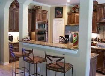 Image result for split level kitchen remodel
