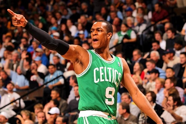 3. Rajon Rondo  Team: Boston Celtics     Rondo is one of five Boston Celtics to make the top 15 jersey sales list in 2010-11. He was the 22nd pick in the 2006 NBA draft after playing two years at the University of Kentucky. Rondo is a two-time NBA All-Star.