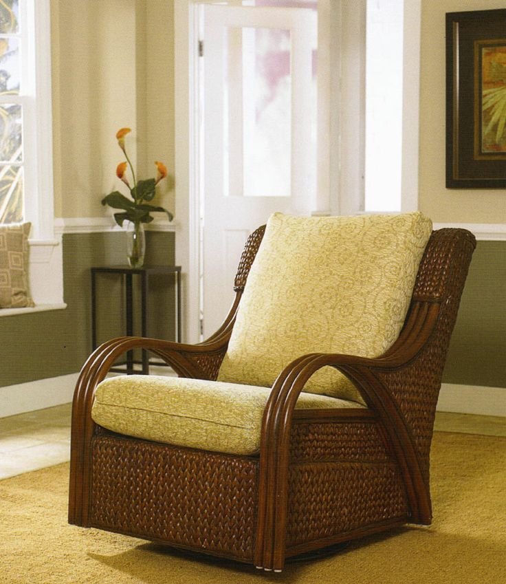 1000 Images About Rattan And Wicker Rockers And Swivel