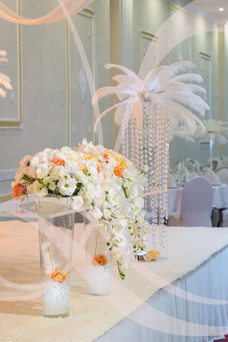Crystal,orchids & feathers