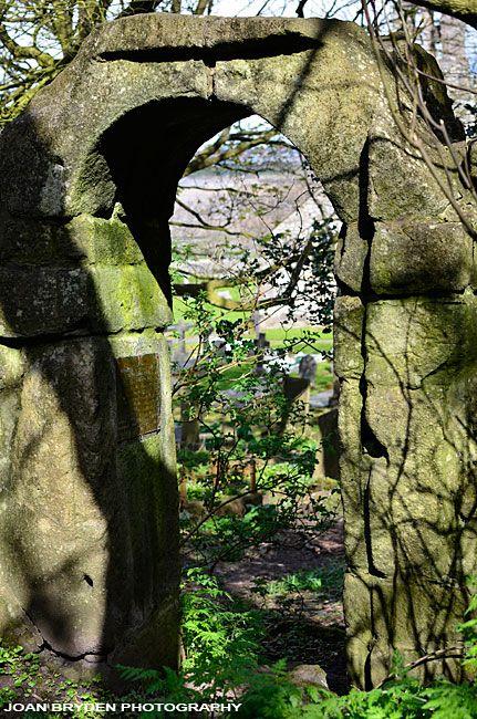 Anglo Saxon Doorway, St. Peter's Church, Heysham Village, Lancashire, England