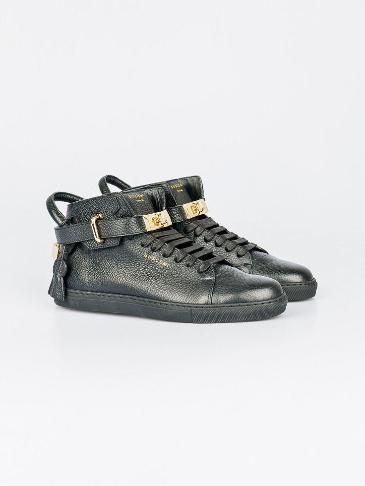 BUSCEMI , Siyah 100 MM Gold Sneaker Kadın #shopigo#shopigono17#shoponline#womenswear#sneakers