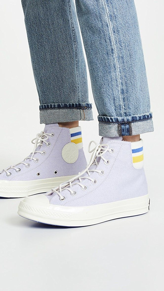 Chuck 70 Retro Stripe High Top Sneakers | High top sneakers