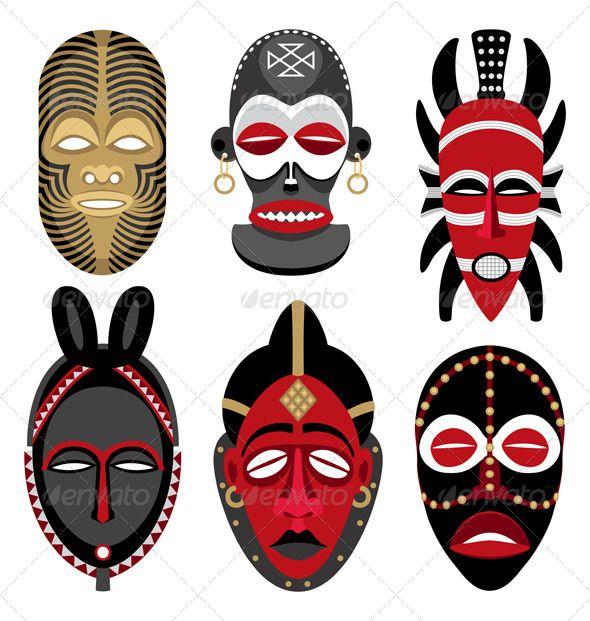 African Masks 2