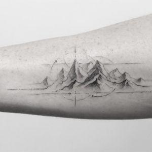 Tatuajes de montañas