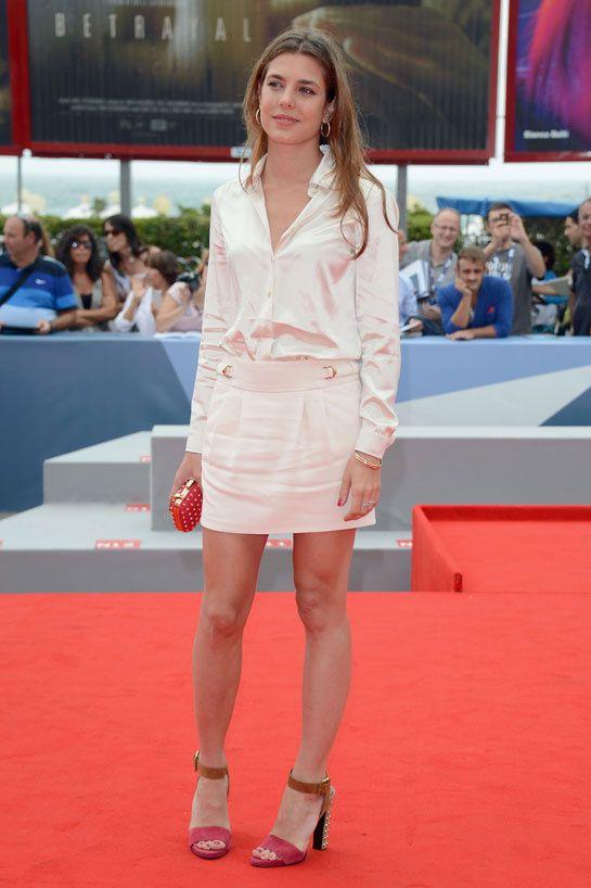 Charlotte Casiraghi en Gucci http://www.vogue.fr/mode/look-du-jour/articles/charlotte-casiraghi-en-gucci-1/15672