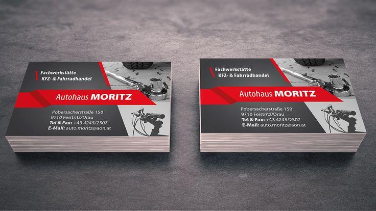Neue Visitenkarten für unseren Kunden Autohaus MORITZ #grafik #grafikdesign #print #printdesign #visitenkarten #visitenkarte #branding #corporatedesign #pixualis #agenturpixualis http://www.agentur-pixualis.at