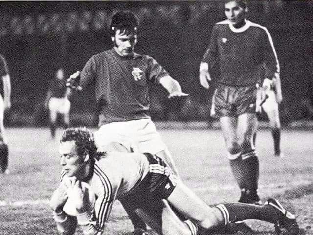 Davie Cooper v Twente Enchade 1977