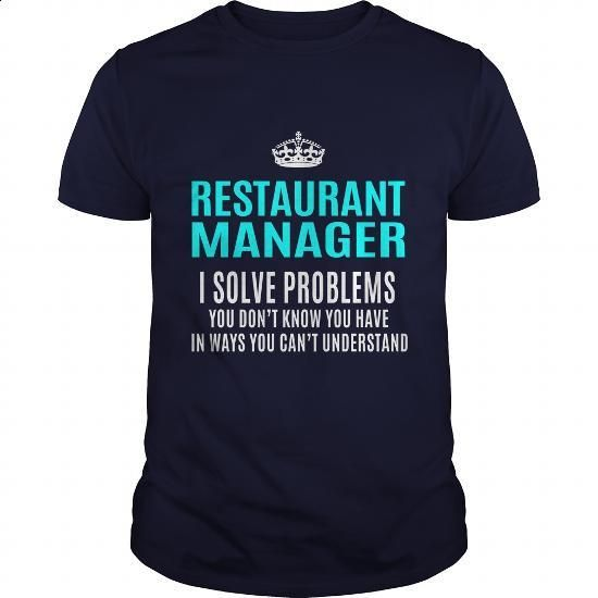 RESTAURANT-MANAGER - #vintage t shirts #funny shirt. GET YOURS => https://www.sunfrog.com/LifeStyle/RESTAURANT-MANAGER-101385117-Navy-Blue-Guys.html?60505