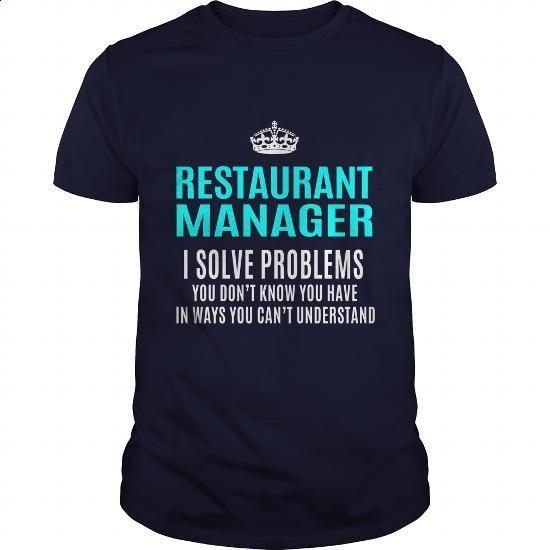 RESTAURANT-MANAGER - #vintage t shirts #funny shirt. GET YOURS => https://www.sunfrog.com/LifeStyle/RESTAURANT-MANAGER-101385117-Navy-Blue-Guys.html?60505