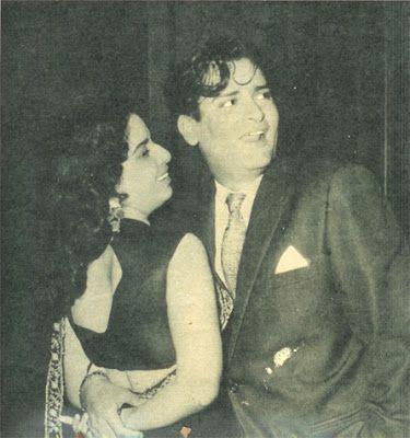 Geeta Bali with her Husband Shammi Kapoor