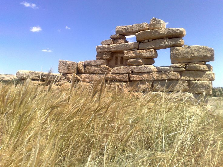 Un mur en ruine à #Sbeitla