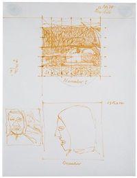 "alex colville - study for ""november"" and ""december"" (1974)"