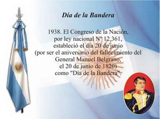 20 de junio Dia de la Bandera