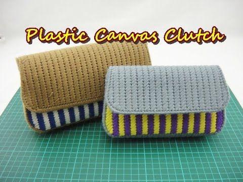 Plastic Canvas Craft - Purse Clutch