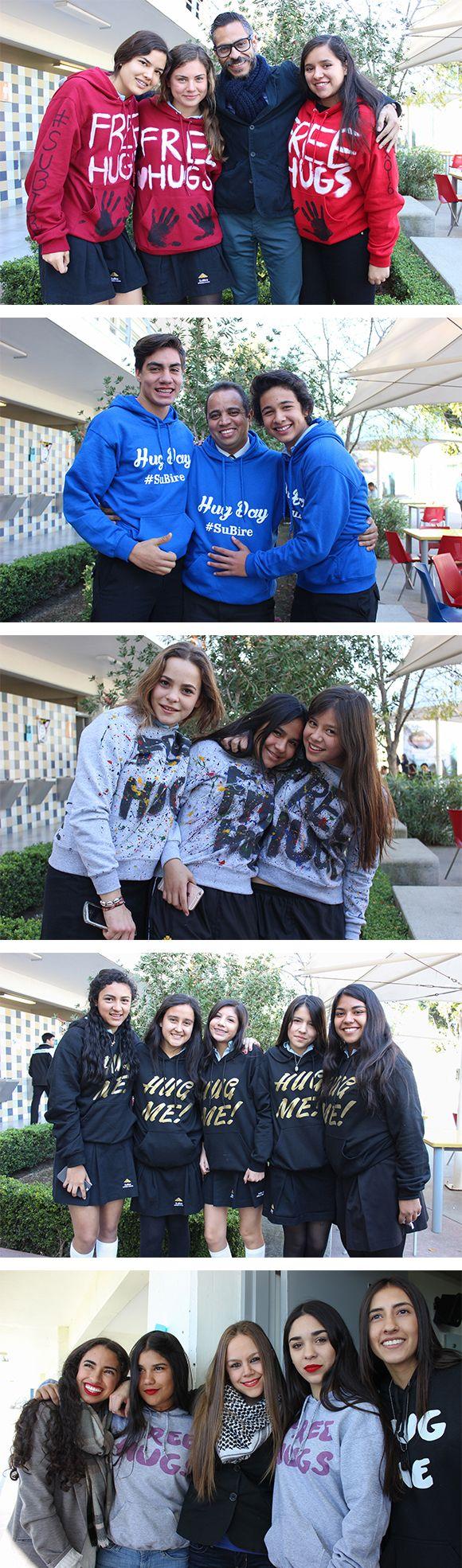 Diseños de sudaderas - Hug Day